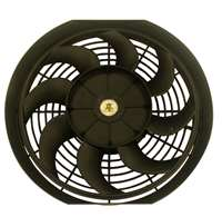 14 inch Radiator Cooling Fan S blade black