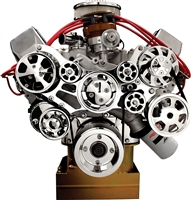 BILLET SPECIALTIES TRU TRAC SERPENTINE FRONT ENGINE KIT 429 460 ford big block