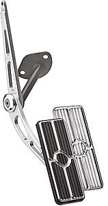 Billet Gas Pedal Assembly 1967 1968 1969 camaro firebird gas pedal black aluminum