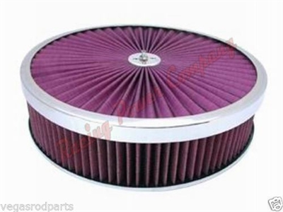 "14"" Super Flow Air Cleaner kit washable"