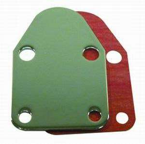Fuel Pump Block Off Plate small blok chevy