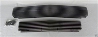 1967 1968 ford mustang shelby 2 PC CHROME BILLET GRILLE Eleanor new GT 350 500