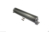 "Transmission Cooler Tube and Finned 15 "" inch dual pass design universal aluminum"