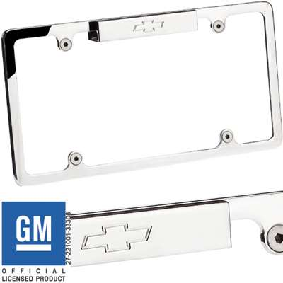 Lighted Recessed License Plate Frame
