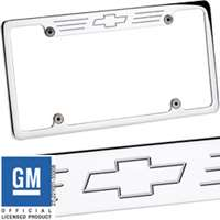 Billet Specialties Recessed License Plate Frame