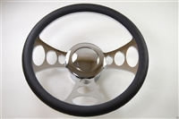 Chrome Aluminum Steering Wheel orbitor STYLE