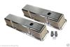 Aluminum Valve Covers SMALL BLOCK CHEVY Tall Ball Milled polished