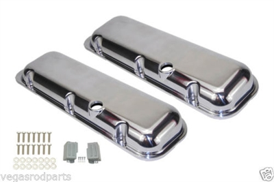Aluminum Valve Covers (Baffled)