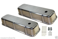 Chrome Valve Covers BIG BLOCK CHEVY  Smooth Tall