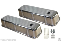 Aluminum Big Block Chevy Valve Covers BIG BLOCK CHEVY CHROMED