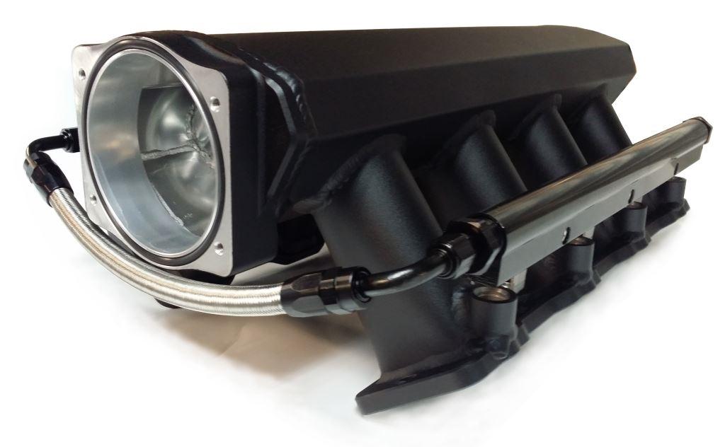 Ls3 Ls9 Fabricated Aluminum Ram Air Intake Manifold Black