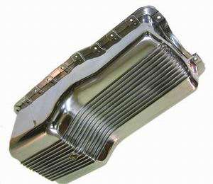 Small Block Ford Polished Aluminum Oil Pan 289 302 1962 1982