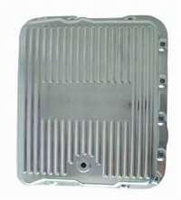 Transmission Pan gm 700r4 polished aluminum