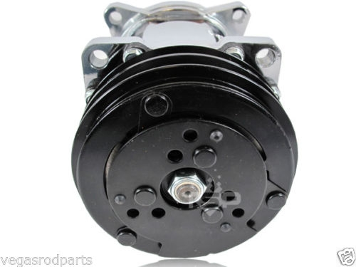 Chrome Sanden 508 12v Compressor V Belt A C Air Conditioning