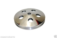 GM Chevy Power Steering Pulley ALUMINUM key way chevy chevrolet billet 1 groove