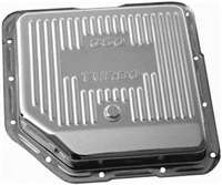 GM 350 turboTransmission Pan chrome steel stock debth