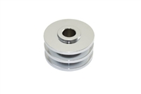 Double Groove Chrome Steel Alternator Pulley gm type