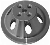 Single Groove Water Pump Upper Pulley Small Block Chevy