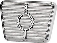 brake Pedal Pad Aluminum Polished Chevy nova chevelle el camino bel air throttle