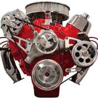 Big Block Chevy Top Mount Alternator Amp Power Steering