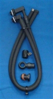 Gotta Show  - Power Steering Hose Kit Ford Rack to GM Pump w/1 Pc Rack