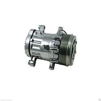 Mini AC a/c air conditioning Compressor HC5005C Sanden sd-7 style sd7 small