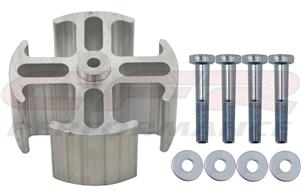 Aluminum Fan Spacer 1 1 2 Quot Thick 5 8 Quot Pilot W Bolts