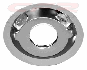 Steel Air Cleaner 14 Quot Round 1 1 4 Quot Drop Recessed Base Chrome
