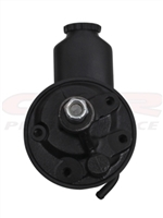 Chevy BLACK steel power steering pump GM Saginaw key way teardrop
