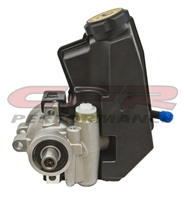 GM Type II 2 Power Steering Pump Satin chevy power steering pump with RESERVOIR