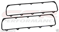 Oldsmobile BLACK Valve Cover GASKETS RUBBER V8 350 455 olds cutlass