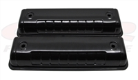 BLACK steel  Valve Covers Ford Y-Block V8 272 312 engines 1954 - 1964