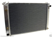 1979-93 FORD SMALL BLOCK 302 5.0 MUSTANG Aluminum Radiator AT cooler direct fit