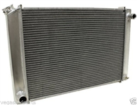 1979-93 FORD SMALL BLOCK 302 5.0 MUSTANG Aluminum Radiator satin direct fit