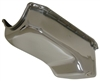 1980-85 CHEVY SMALL BLOCK 267-283-305-327-350 STOCK CAPACITY OIL PAN chrome