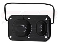 GM Chevy Master Cylinder Cover with Bail Brake Cap bendix BLACK