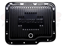 Chevy Powerglide Black Transmission Pan With Drain Plug chevrolet