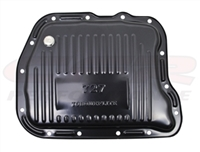 Chrysler 727 BLACKSteel Transmission Pan With Drain Plug dodge