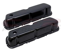 Black steel Valve Covers Ford Small Block V8 302 5.0 289 351w 260 mustang truc