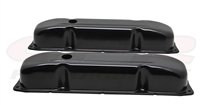 CHRYSLER DODGE MOPAR BIG BLOCK 383 426 440 black valve cover black steel