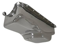1956-87 CHRYSLER/MOPAR SMALL BLOCK 273-318-340 OIL PAN - CHROME