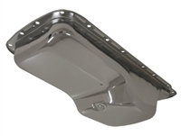 11966-71 CHRYSLER/MOPAR BIG BLOCK 383-400-413-426-440-HEMI OIL PAN - CHROME