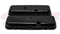 1965-72 CHEVY BIG BLOCK 396-427-454 TALL STYLE STEEL VALVE COVERS BLACK