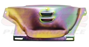Steel 700 700R4 Transmission Fly Wheel Dust Cover Flywheel Gm Chevy Shield ZINC
