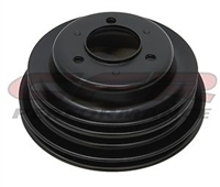 Crankshaft Pulley V Belt 3 Groove Steel EDP black Long Pump 454 427 396 gmc big