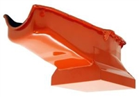 1958-79 CHEVY SMALL BLOCK 283-305-327-350-400 DRAG RACING OIL PAN -Orange