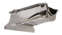 1986-02 CHEVY SMALL BLOCK 283-305-327-350-400 DRAG RACING OIL PAN - CHROME