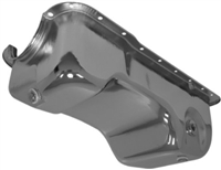 1983-93 FORD SMALL BLOCK 302 5.0 MUSTANG STOCK CAPACITY OIL PAN - CHROME