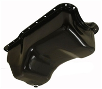 1988-96 FORD SMALL BLOCK 351W WINDSOR STOCK CAPACITY TRUCK OIL PAN - BLACK