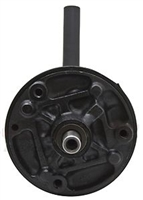 STEEL EARLY FORD POWER STEERING PUMP RESERVOIR - BLACK